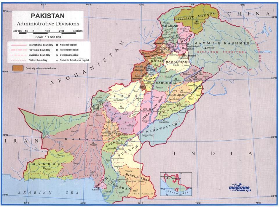 map-of-pakistan