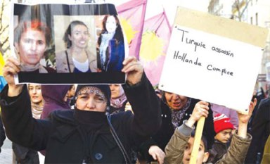Three Kurdish Female Activists Murdered in Paris
